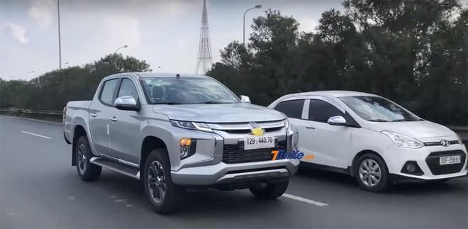 Mitsubishi Triton 2019 bị bắt gặp tại đại lộ Thăng Long