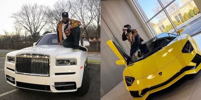 Cặp đôi Rolls-Royce Phantom 2018 và Lamborghini Aventador S mới của 50 Cent