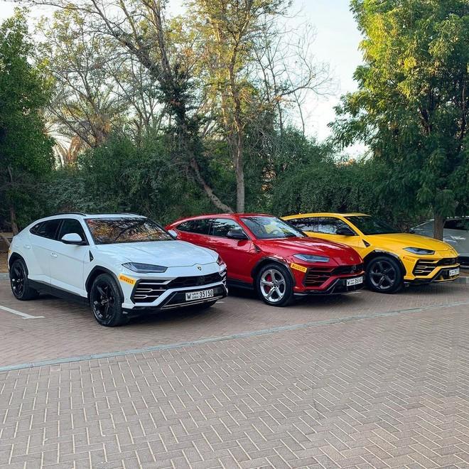 Những chiếc siêu xe Lamborghini Urus đủ màu sắc tham gia chương trình trải nghiệm Lamborghini Esperienza