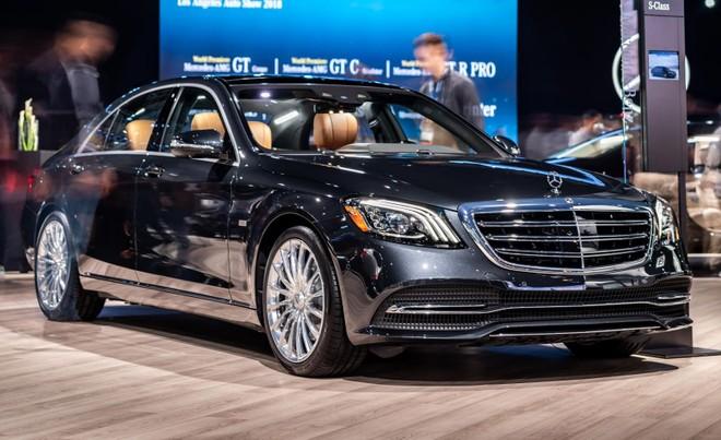 Mercedes-Benz S-Class Concours S Edition 2019 sở hữu bộ vành hoàn toàn khác biệt so với S560 tiêu chuẩn