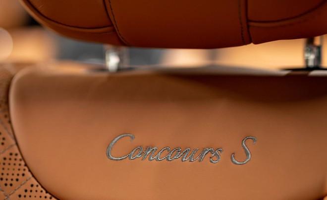 Ghế bọc da màu nâu vàng của Mercedes-Benz S-Class Concours S Edition 2019
