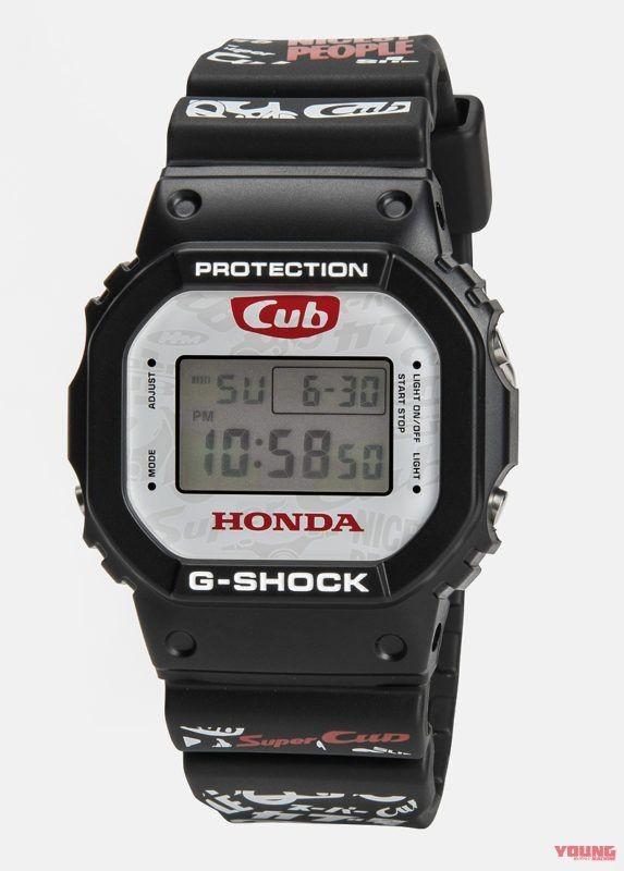 Đồng hồ G-Shock phiên bản Super Cub sẽ được bán giới hạn 1000 chiếc