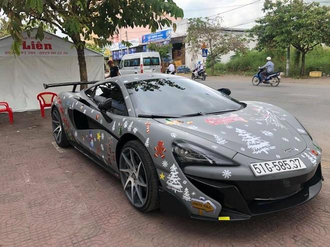 Công tử Bạc Liêu tậu siêu xe McLaren 570S độ độc nhất vô nhị tại Việt Nam