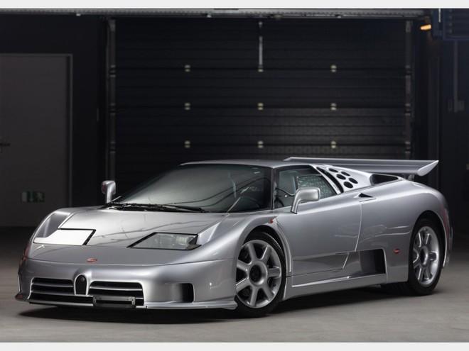 Chỉ có 30 chiếc Bugatti EB110 Super Sport được sản xuất