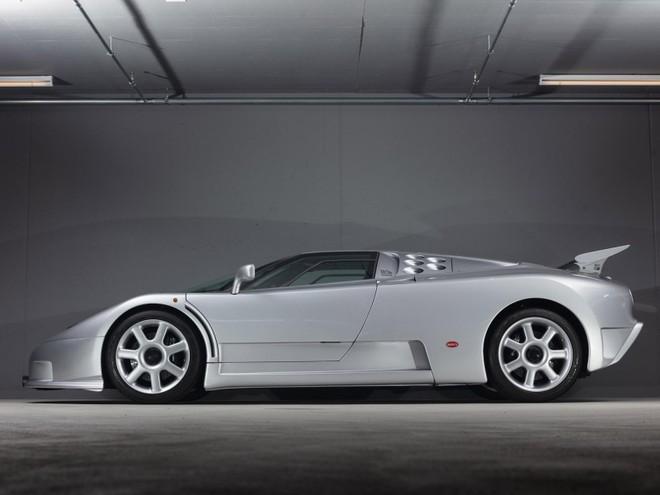 Siêu xe Bugatti EB110 Super Sport này có số khung gầm ZA9BB02E0RCD39012