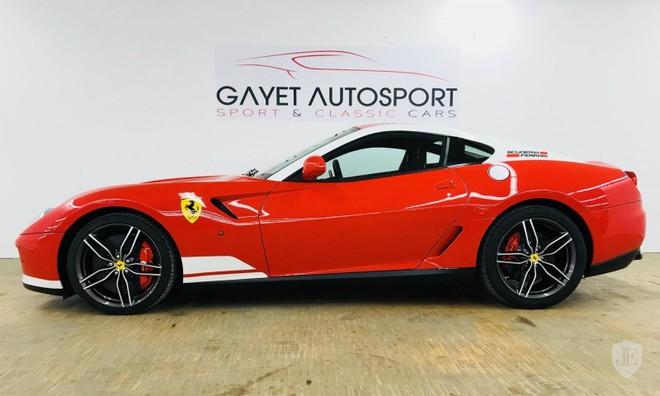 Chiếc Ferrari 599 GTB HGTE 60F1 này được bán với giá 14,57 tỷ đồng