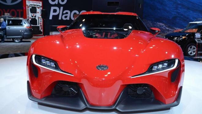 Toyota FT-1 Concept ra mắt trong triển lãm Ô tô Chicago 2014
