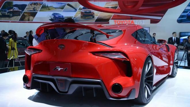 Toyota FT-1 Concept 2014 có cánh gió đuôi có thể nâng lên hạ xuống