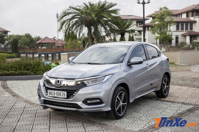 Honda HR-V và doanh số lên xuống thất thường trong giai đoạn tháng 10, tháng 11