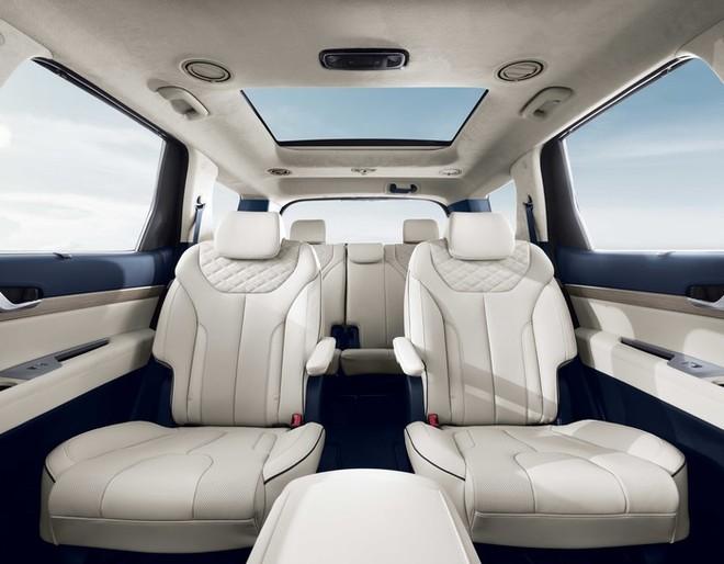 2 ghế thương gia ở giữa Hyundai Palisade 2020