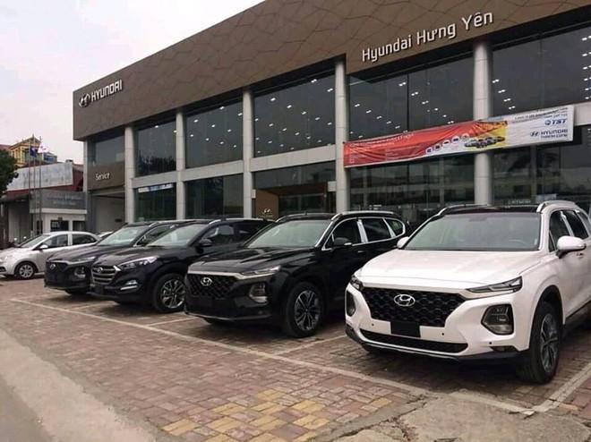 Hyundai Santa Fe 2019 được trang bị 2 tùy chọn động cơ