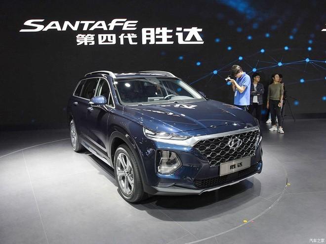 Hyundai Santa Fe 2019 phiên bản Trung Quốc ra mắt trong triển lãm Ô tô Quảng Châu 2018