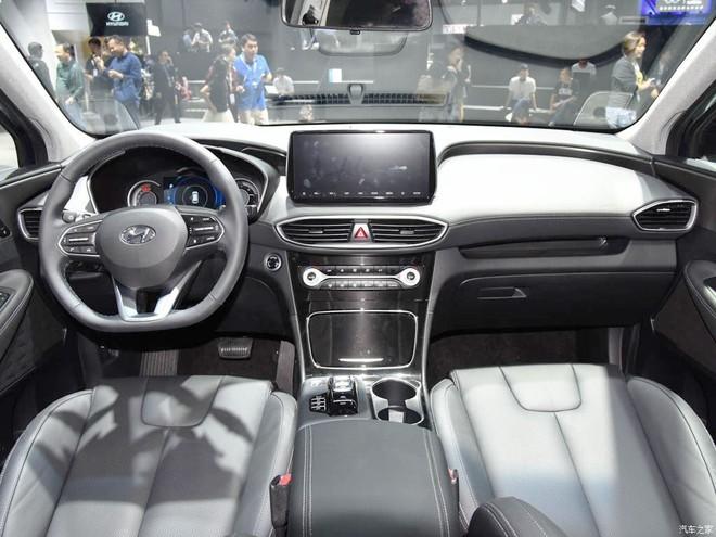 Thiết kế nội thất của Hyundai Santa Fe 2019 phiên bản Trung Quốc