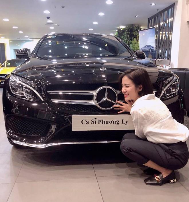 Phương Ly tậu Mercedes-Benz C300 AMG gần 2 tỷ đồng