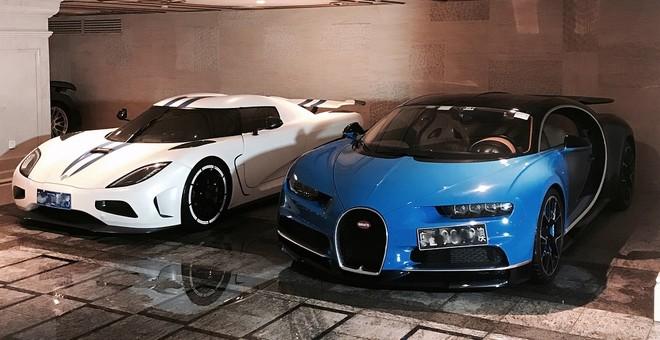 Siêu phẩm Bugatti Chiron của một thiếu gia 9X tại Trung Quốc có giá lên đến 202 tỷ đồng.