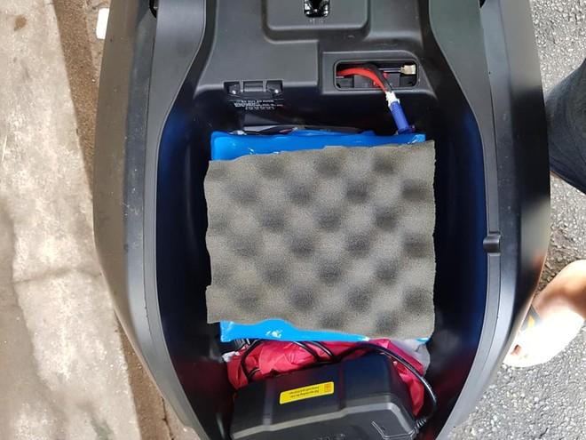 Bộ pin Cell dự phòng được tự tay thiết kế bởi thợ Việt Nam cho Vinfast Klara