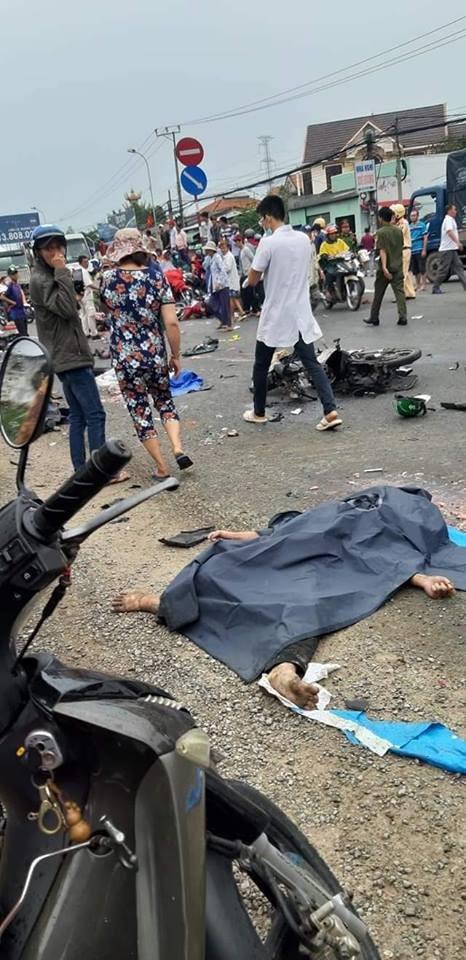 Một số nạn nhân của vụ tai nạn đã tử vong tại chỗ