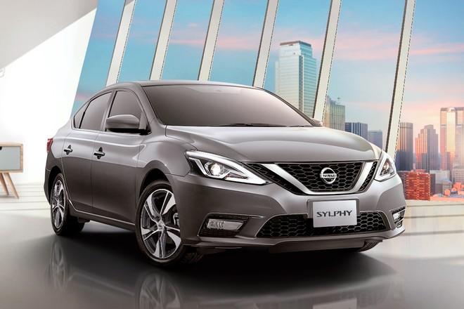 Nissan Sylphy 2019 được bổ sung thiết kế đầu xe mới