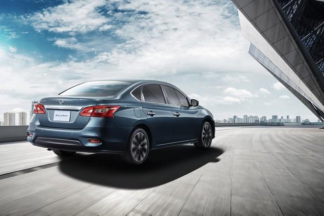 Nissan Sylphy 2019 được bổ sung cản sau mới