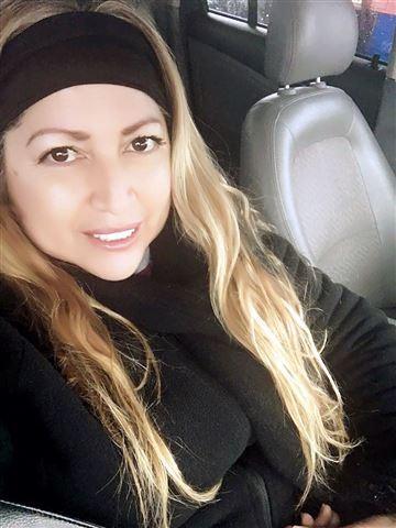 Bà Zavala, nạn nhân của vụ tai nạn
