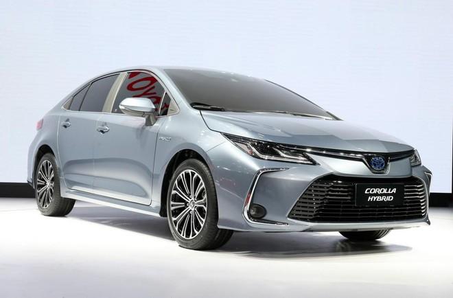 Toyota Corolla Altis 2019 đã ra mắt trong triển lãm Ô tô Quảng Châu 2018
