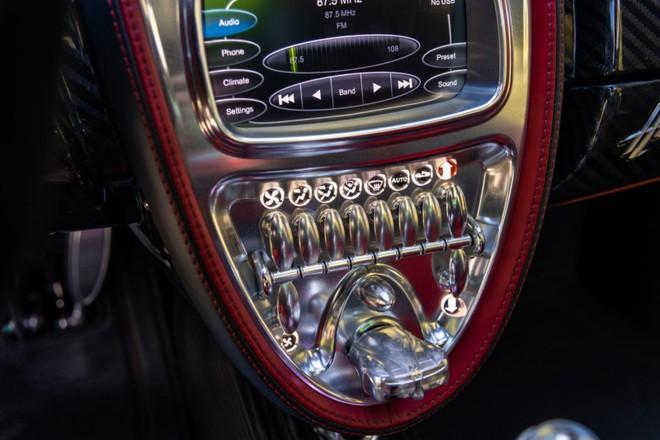Chìa khoá của xe là mô hình thu nhỏ của Pagani Huayra