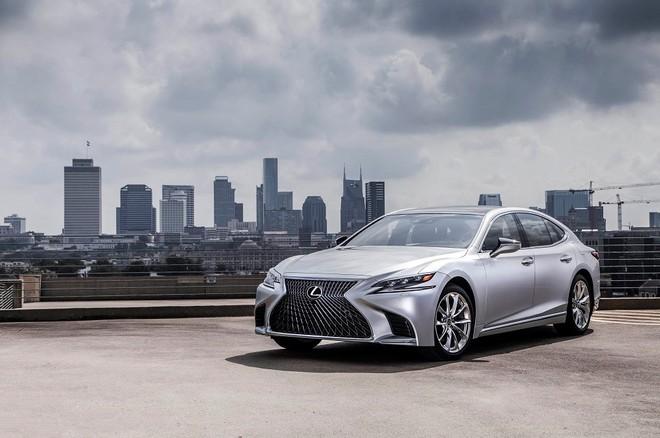 Lexus LS 2019 được phát triển từ khung gầm GA-L vốn dành riêng cho dòng coupe LC 500