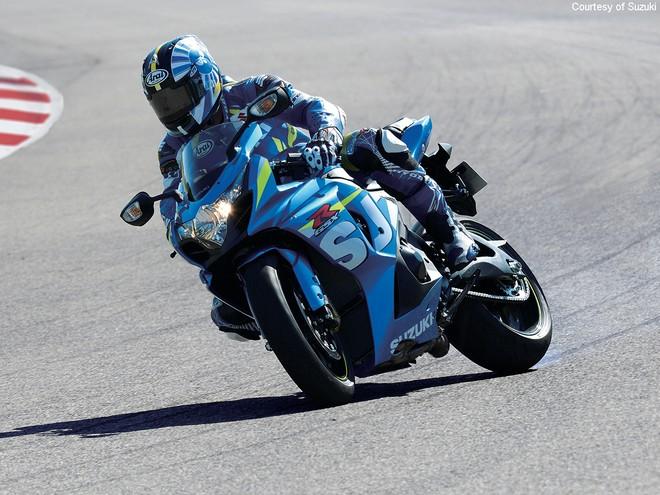 Suzuki GSX-R tầm trung đã từng là một trong những chiếc Sport bike được yêu thích trong giới biker