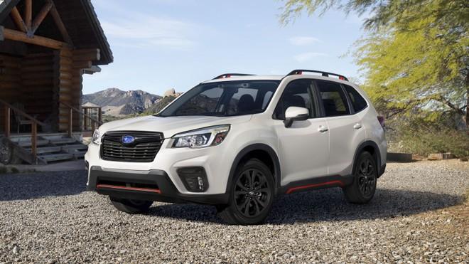 Subaru Forester thế hệ mới nhất