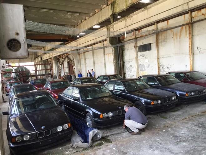 11 chiếc BMW 5-Series chưa được đăng ký