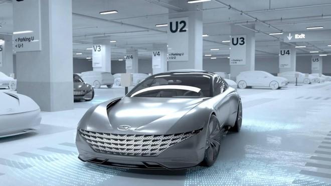 Hình ảnh mẫuHyundai Le Fil Rouge Concept trong video