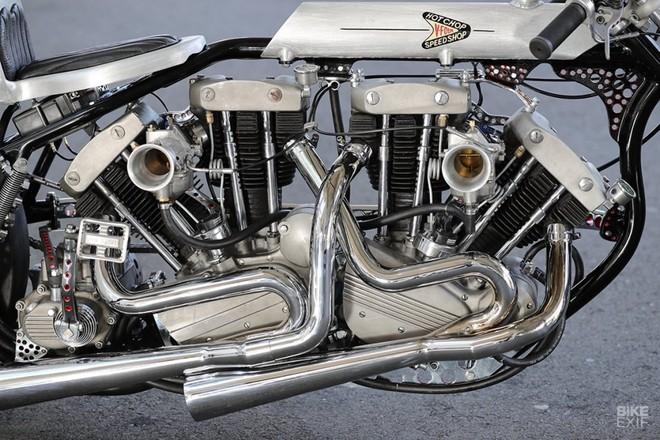 Bản độ Hot Chop với 2 khối động cơ Harley-Davidson