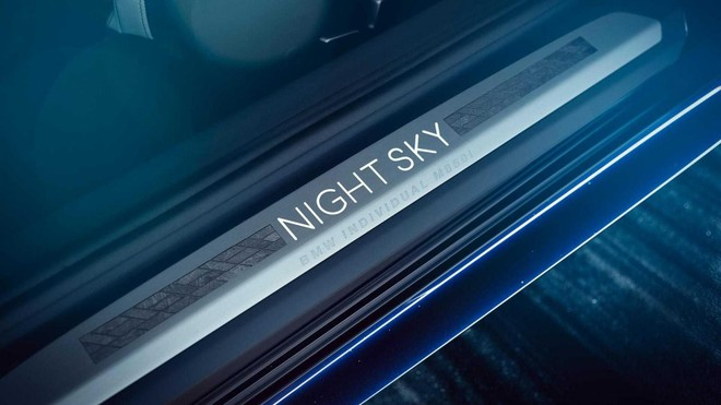 Bậc cửa của BMW M850i Night Sky
