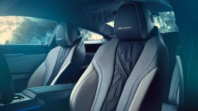 Ghế của BMW M850i Night Sky