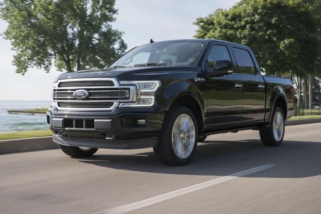 F-Series tiếp tục là dòng xe bán chạy nhất của Ford tại Mỹ