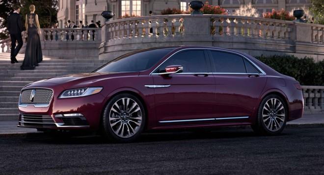 Mẫu sedan hạng sang Lincoln Continental không ăn khách như kỳ vọng