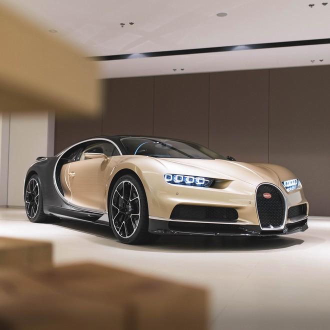 Còn đây là chiếc Bugatti Chiron đầu tiên của giới nhà giàu tại Đài Loan