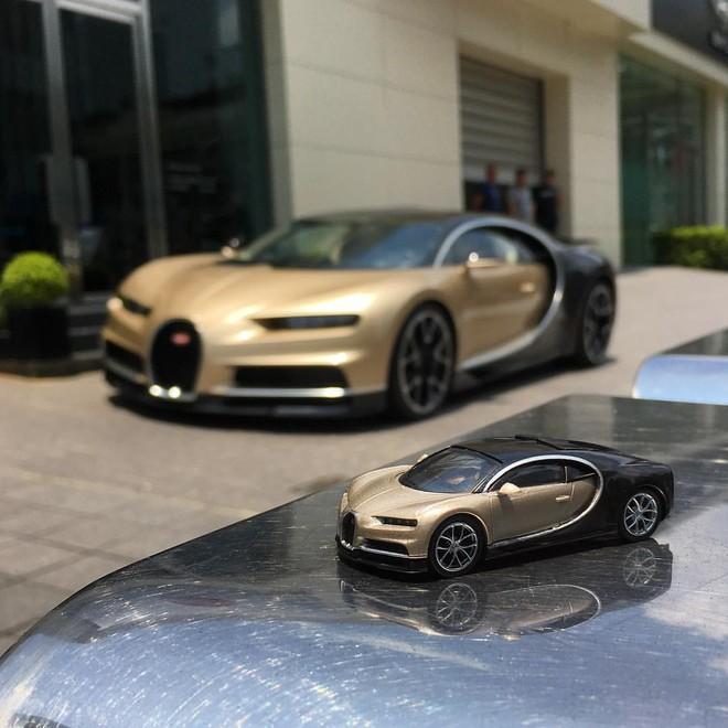 Mô hình tỷ lệ thu nhỏ của chiếc Bugatti Chiron đầu tiên thuộc sở hữu giới nhà giàu tại Đài Loan