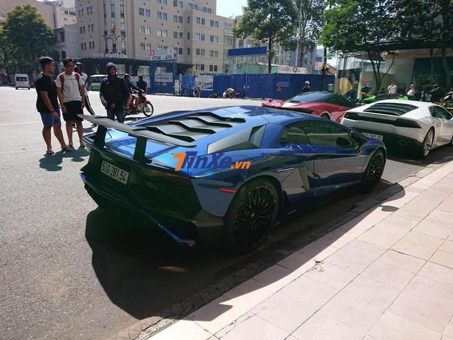 Chỉ có 600 chiếc Lamborghini Aventador SV Coupe được sản xuất trên toàn thế giới
