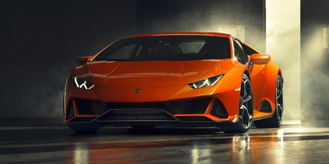 Lamborghini Huracan EVO 2020 chính là phiên bản nâng cấp của Huracan