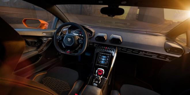 Thiết kế nội thất bên trong Lamborghini Huracan EVO 2020