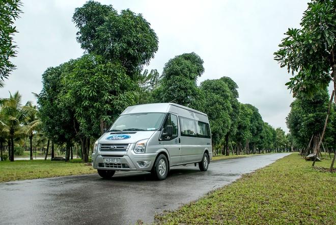 Ford Transit vẫn dẫn đầu mảng xe thương mại
