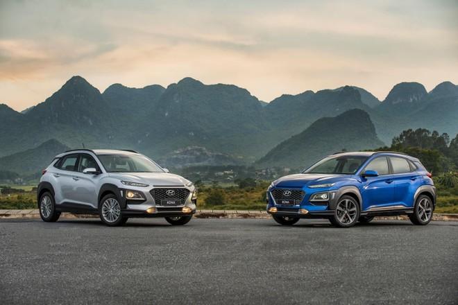 Hyundai Kona tiếp tục khẳng định vị thế trong phân khúc B-SUV