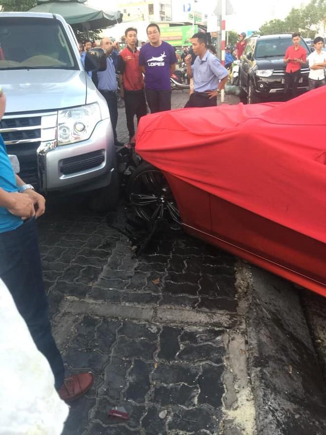 Vụ tai nạn này có thể khiến chi phí sửa chữa cho chiếc BMW M6 Gran Coupe không dưới 230 triệu đồng