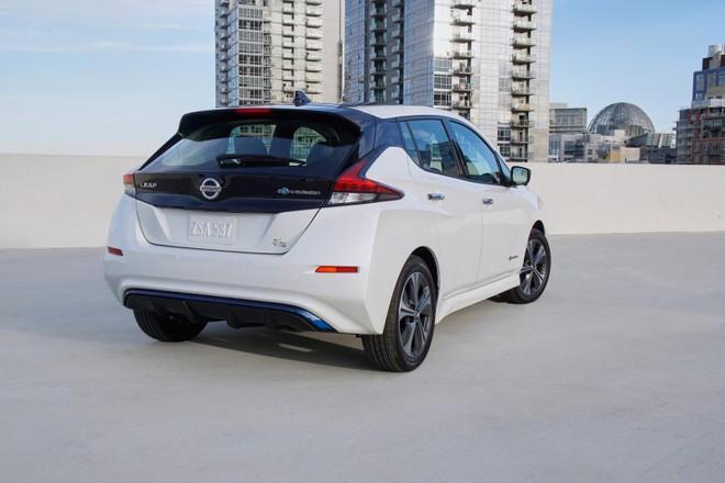 Nissan Leaf E+ có khá nhiều nâng cấp so với Nissan Leaf tiêu chuẩn