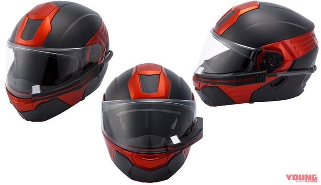 Mẫu mũ bảo hiểm thông minh đến từ Nhật Bản