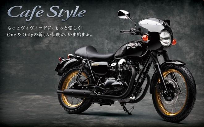 Kawasaki W800 phiên bản Cafe