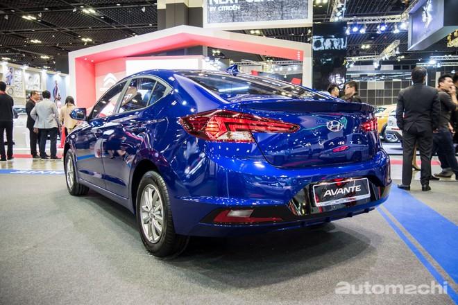 Cận cảnh thiết kế đuôi xe của Hyundai Elantra 2019