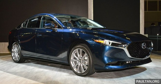 Mazda3 2019 xuất hiện trong triển lãm Singapore Motor Show 2019
