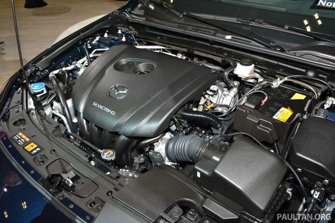 Động cơ của Mazda3 2019